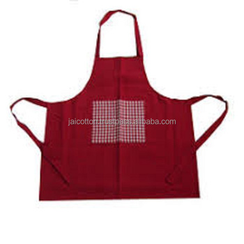 Cotton Kitchen Apron for Cooking with 100% Cotton