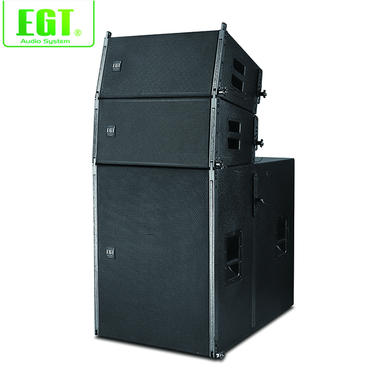 Powerful professional KTV 450W/1800W passive line array subwoofer speaker for sale