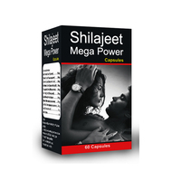 Herbal Mens Sexual Energy and Stamina Boosters Shilajit Capsules Supplements