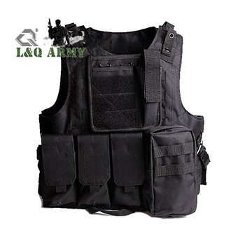 Training Tactical Airsoft Combat Swat Assault Army Molle  Vest