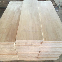 SOLID RUBBER WOOD FINGER JOINT LAMINATED