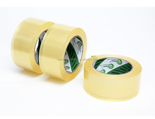 Customized rubber adhesive OPP film based clear/brown cold storage/low temperature tapes
