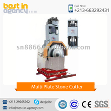 High Quality Long Working Capacity Multi Plate Stone Cutter at Competitive Price