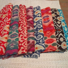 direct factory price Indian Vintage kantha quilts,Handmade Kantha quilts vintage Ikat Bedspread indian bedspreads and quilts
