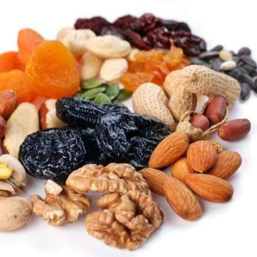 Mixed Nuts and Dried Fruits for supplement food....