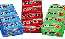 100% Trident Gum for sale