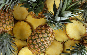 High quality natural fresh fruit pineapple