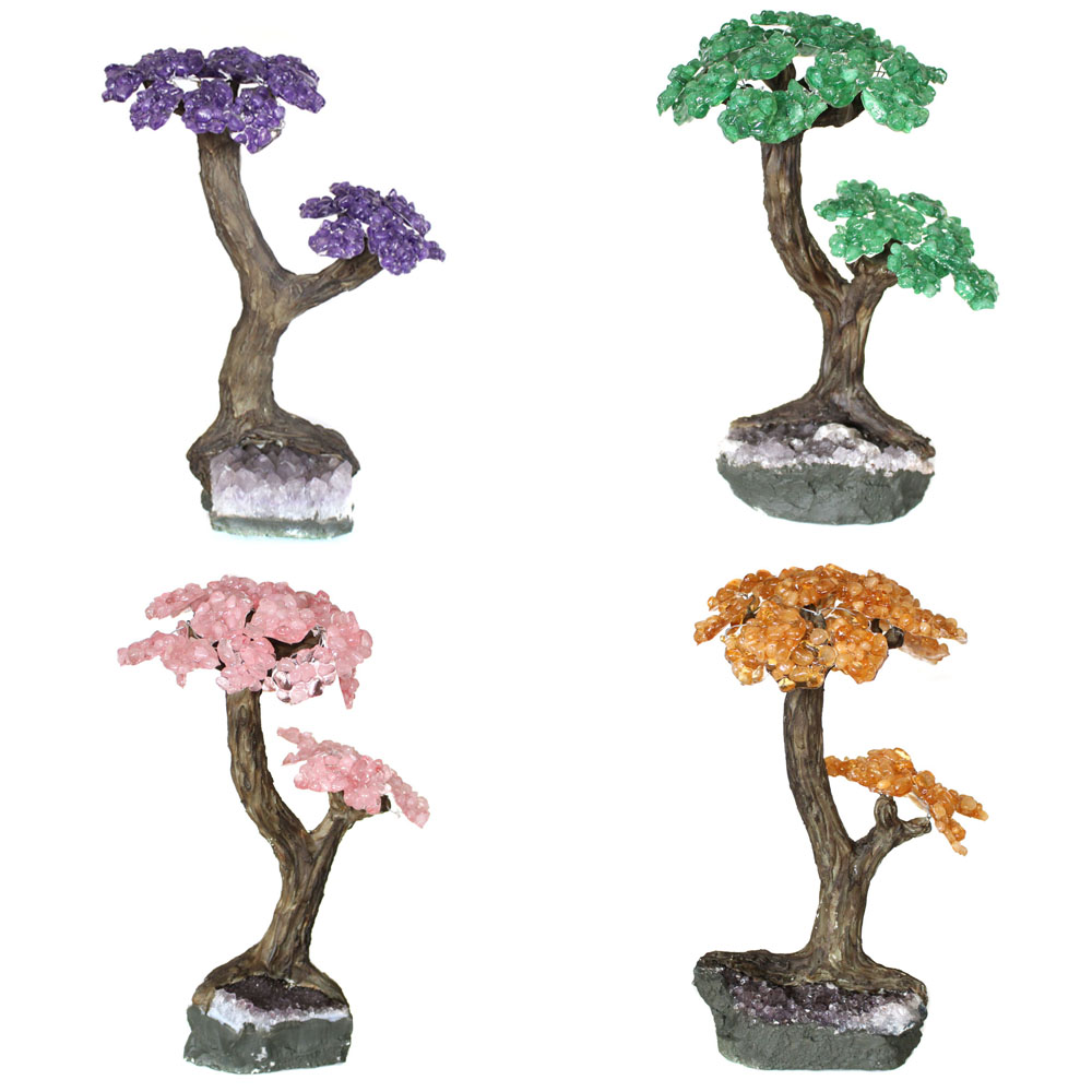 Amethyst Gemstone Tree