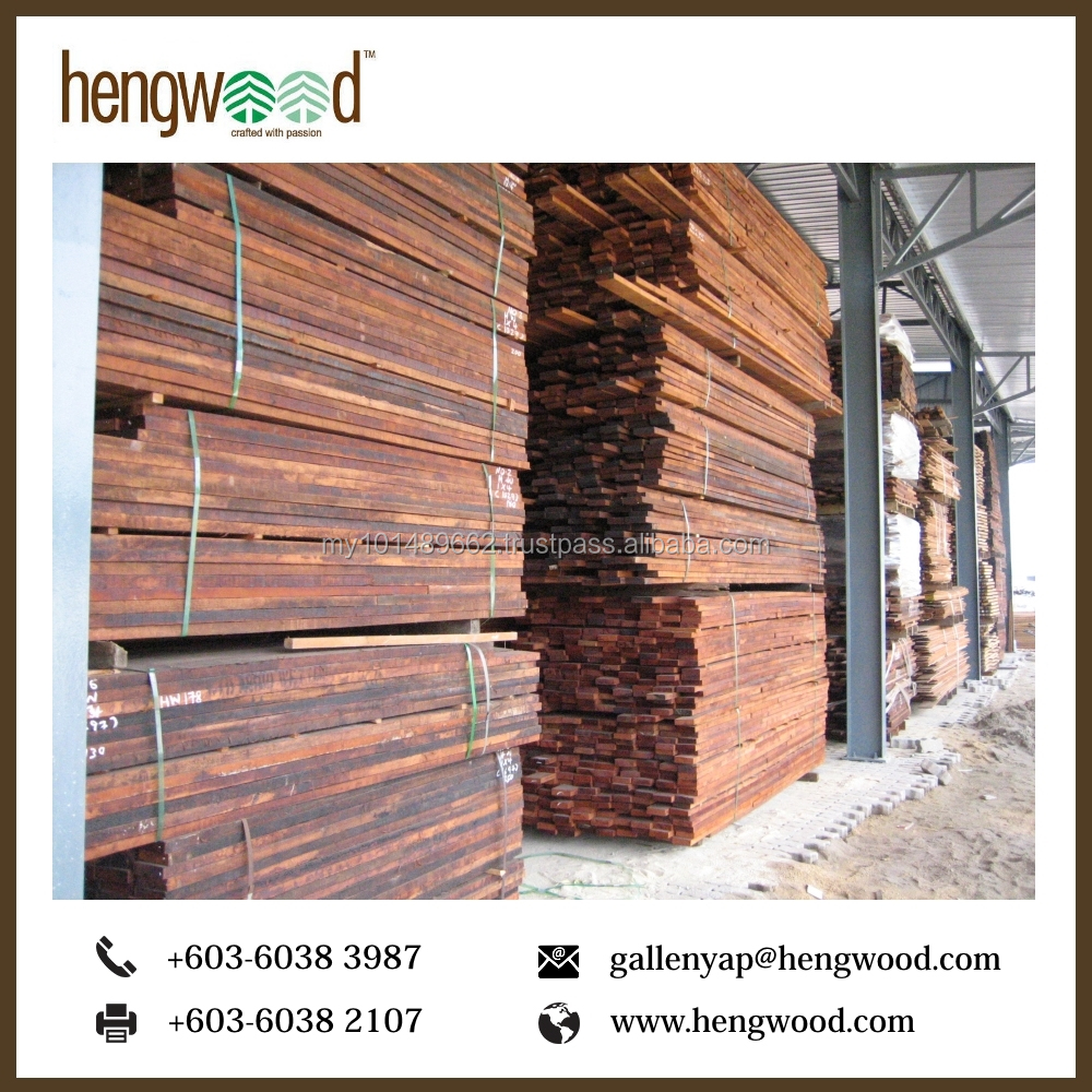 High Quality Merbau Sawn Timber Wood