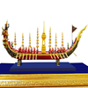 Thai Handmade Royal Barge Narai Song Suban Resin Souvenirs Premium grade for Decoration