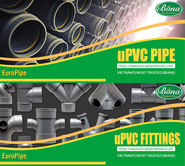 y tee equal upvc pipe fitting EuroPipe Vietnam