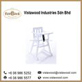 Baby high chair nursery wooden furniture