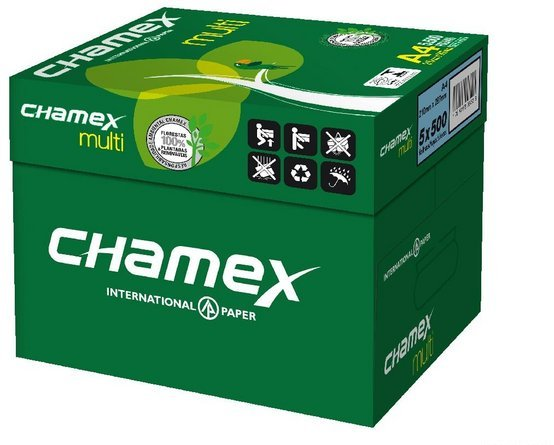 Chamex A4 Copy Paper 80GSM (Original, Premium Quality Grade A) Available for Sale