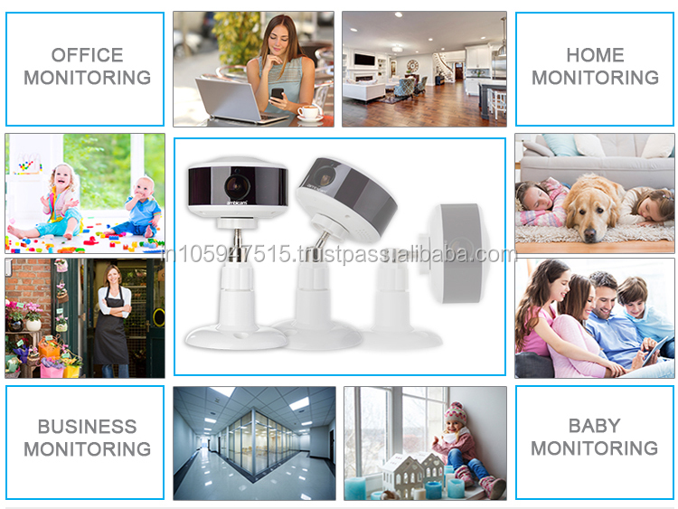 Home monitoring with wireless security camera