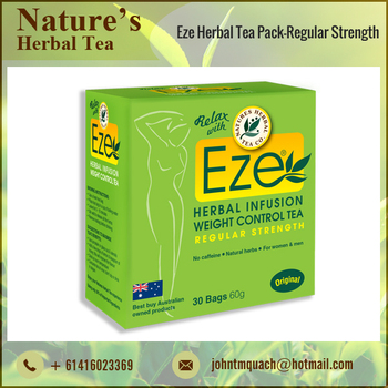 Easy Weight Loss Natural Herbal Tea Packing for Wholesale