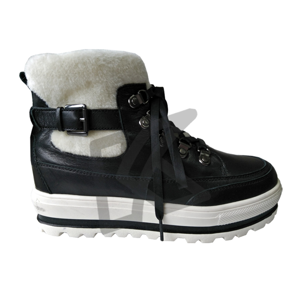 Top Selling Fashion Plus Inner Warm Winter Ankle Snow Boots Women