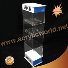 New Products Vape Ego Plastic 30ml Acrylic LED e-cigarette e-liquid e-juice Display Stand