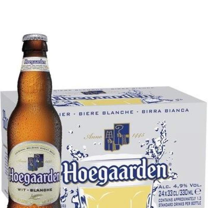 Hoegaarden White Beer , Hoegaarden Blanc Beer 33ml