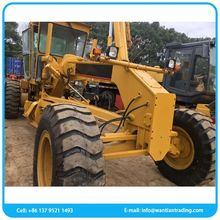 Mobile used high capacity used motor grader with cum mins engine