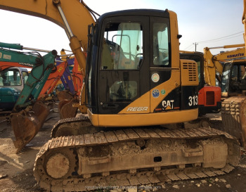 Strong Power Equipment Cat 313 Model for heavy work/ Working Condition Excavator for sale