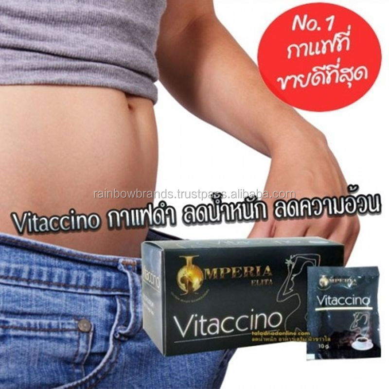 VITACCINO Black Coffee Mix Tea Herb Diet Burn Fat Natural Slim Drink Slimming Diet Instant