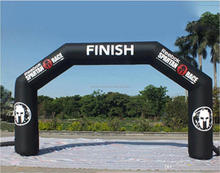 Best Selling Custom Logo Advertising Inflatable Entrance Start Finish Line Inflatable Arch