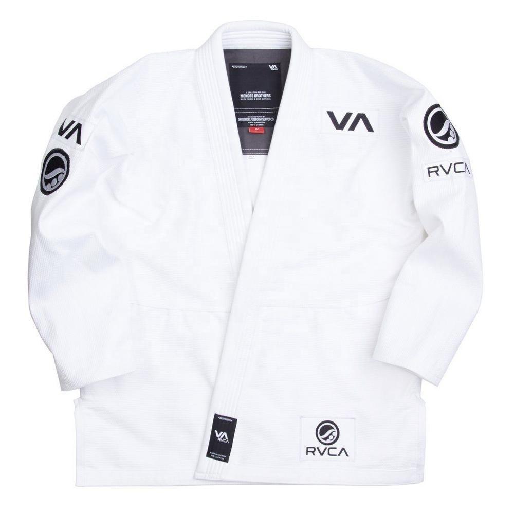 RVCA St Black // White Jiu Jitsu Gi Patch