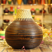 Bamboo decorative vase; bamboo floor vases; Cheapest bamboo bowl from Viet Nam