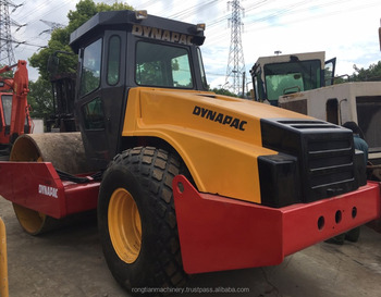 Running condition Sweden used dynapac CA602 road roller for sale in Shanghai site