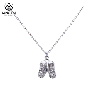 Newest 925 sterling silver shoes pendant, pendant jewelry
