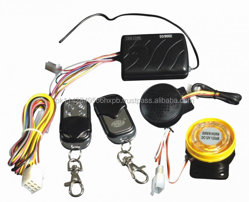 motorcycle alarm systems
