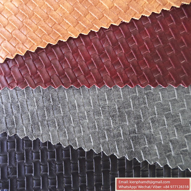 New Products Fashion Design Embossed Synthetic PVC Leather For Furniture and Car Seat