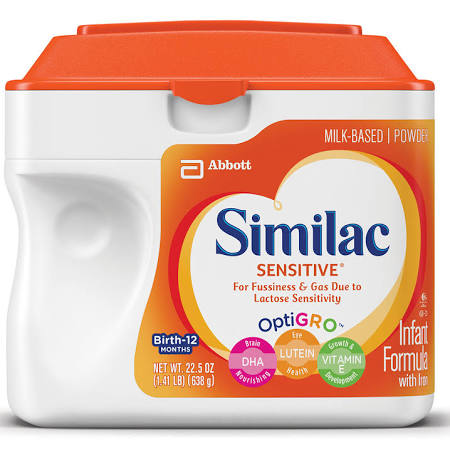 Similac Sensitive Infant Formula with Iron, Powder, 1.41 lb
