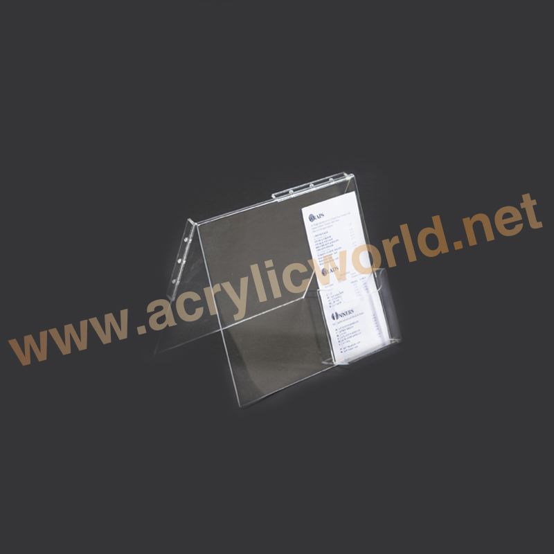 Customizing Frosted Acrylic Credit Card Display/Plexiglass Bank Card Holder/PMMA Name Card Stand