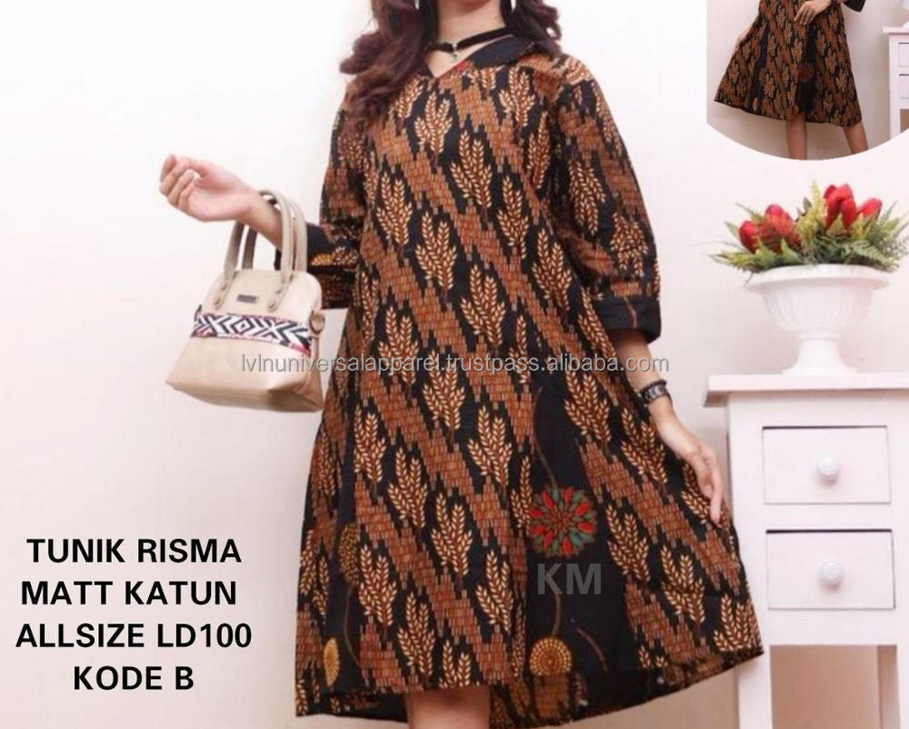 Risma Batik Shirts Indonesia Plus Size Shirts Blouse
