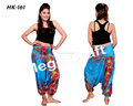 Indian Harem Pants Genie Aladdin Causal Pants- Gypsy Dance Yoga Pants Belly Baggy Jumpsuit- Women's Harem Pants-