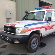 Toyota Land Cruiser Ambulance with Fiber Glass
