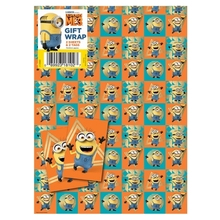 Despicable Me Minion Gift Wrapping Paper