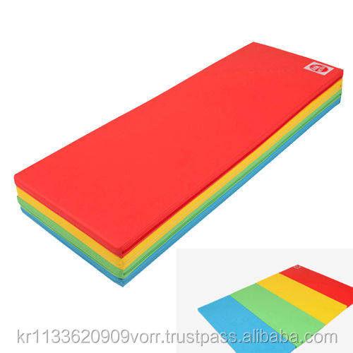Foldaway Foldable Wide Mat Kids playroom Safe Bumper bed Folding play mat 5Color