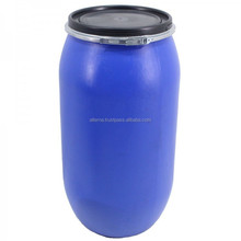 200 litre blue plastic drum chemical packaging hdpe barrel