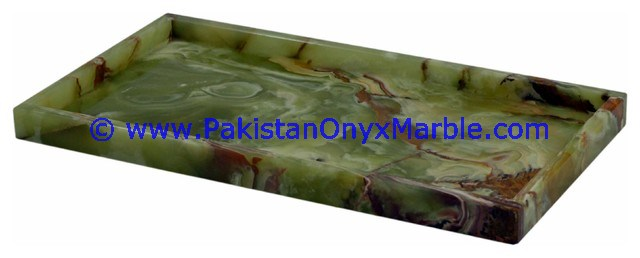 NATURAL STONE EXPORT QUALITY ONYX SERVING TRAYS