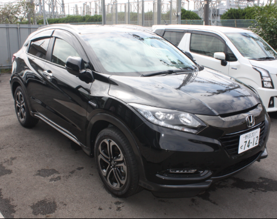 2017 low mileage slightly used Honda Vezel hybrid X Brilliant Style Package