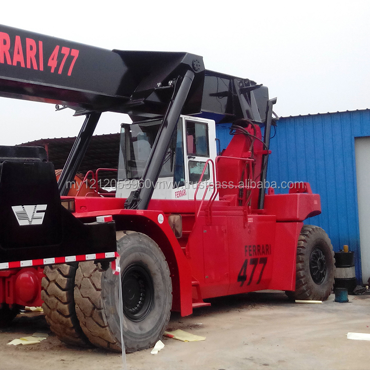 Container stacker forklift used 45ton Ferrari used reach stacker for sale