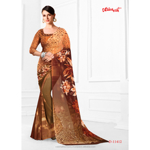 Kolkata Design Georgette Saree
