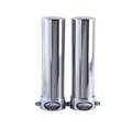 OLYMPUS+ GIGA Double Undersink Antimicrobial Ceramic Water Filter for Hardness Removal - Water Filter System Stainless Steel