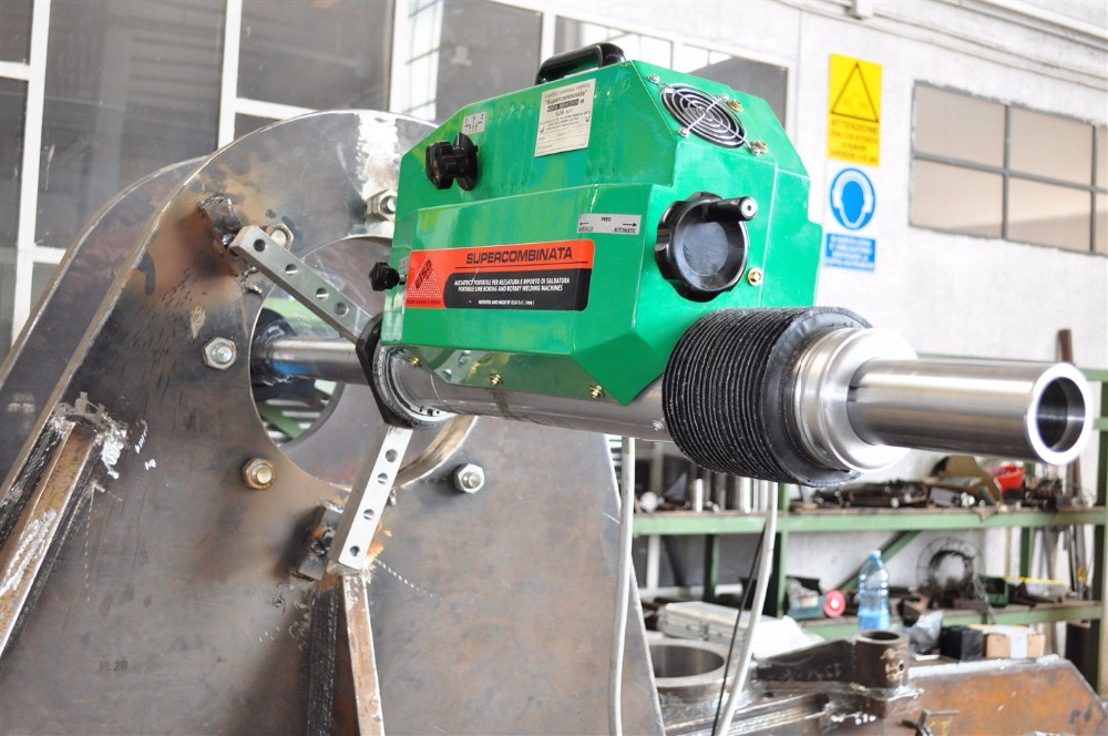 Portable in Line Boring Machine / Overlay Welding / Rotary Welding / Flange Facing Drilling Tapping Machine Supercombinata SC3