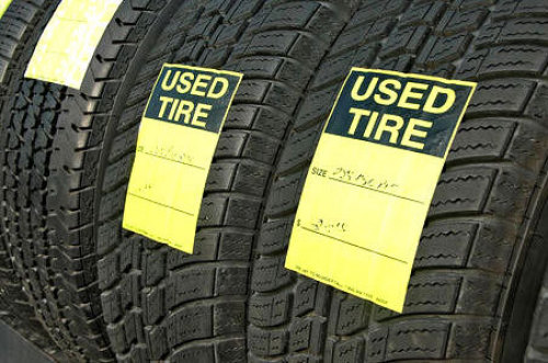 Used tyres for all kinds of vehicles