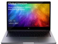 Globalversion Xiaomi millet Notebook Air 13.3 Quad-Core Enhanced Edition Fingerprint Recognition Intel i5 8250U 8GB 256GB <strong>laptop</strong>
