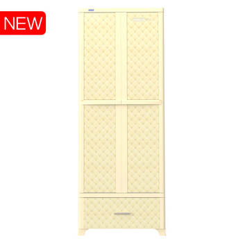 ABS Drawer cabinet closet No1232 WING - L1N in Vietnam Duy Tan Plastics cheap price cabinet for parents, 10 hangers for free