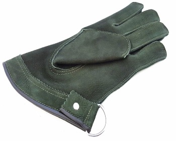 Quality Single Layer Soft Suede Leather Falconry Short Gloves/Bird Handling Gloves/Pet Gloves.